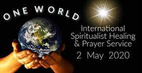 World Congress of Spiritualists Online Healing and Prayer Service