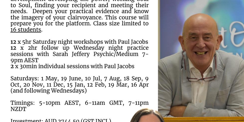 Online Mediumship Progressive with Paul Jacobs 21/22