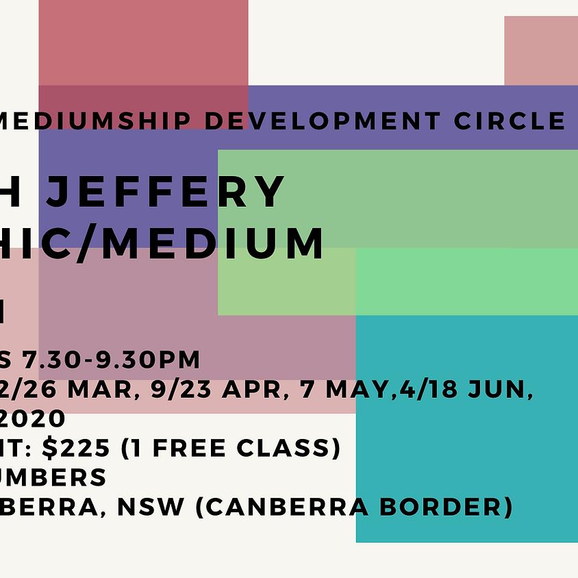 Psychic/Mediumship Development Circle with Sarah Jeffery