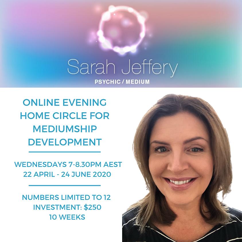 Online Wednesday Evening Home Circle for Mediumship Development 2020  (Term 2)