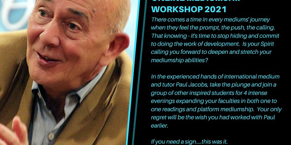 Online Mediumship Workshop with Paul Jacobs