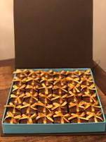 Caixa Luxo com 36 palhas italianas