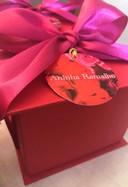 Caixa personalizada com 4 palhas italianas