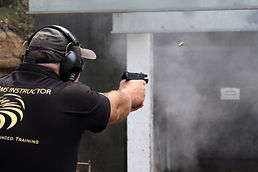 Security firearms training