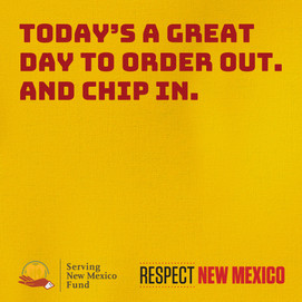 0713 Today's a great day to order out and chip in.