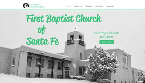 First Baptist Church Santa Fe Website