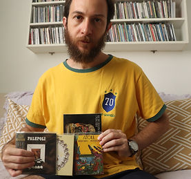 Ronaldo Rodrigues Session Keyboardist Record Collector