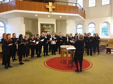 Hoffnungskirche Knauthain 2019