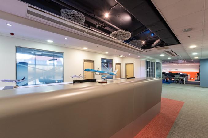 KLM-recepció