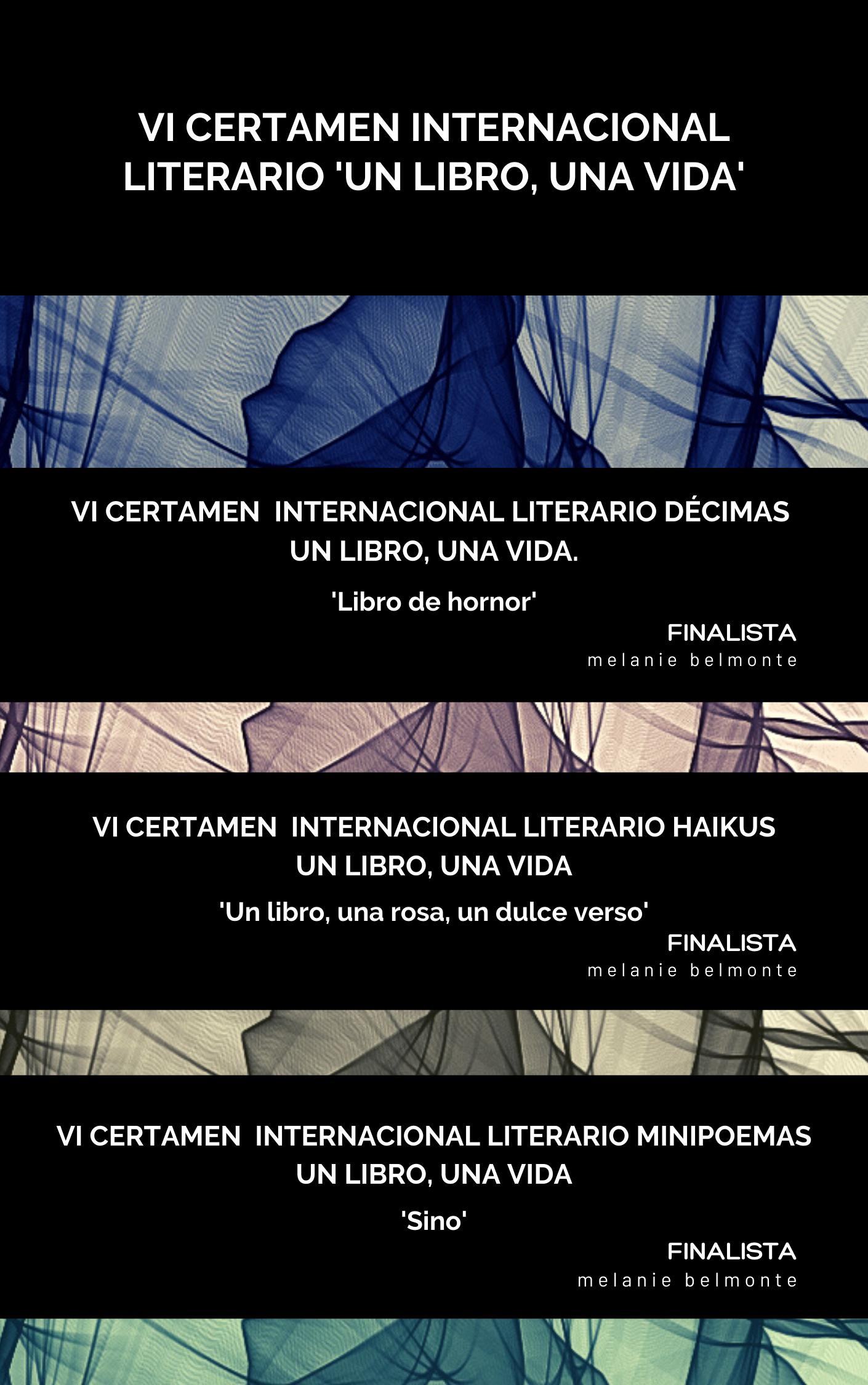 VI Certamen Internacional Literario de D