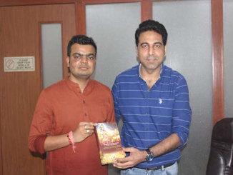 Dr Jatin Chaudhary with Rahul Gupta Mountain Man