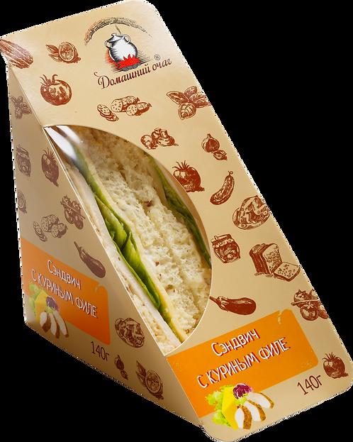 Сэндвич с куриным филе (ЭКО). Домашний очаг. Великоросс.