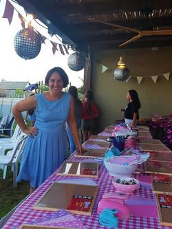 ג'ודיטה מפעילה יום הולדת