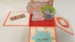 כרטיס ברכה פופ אפ בקופסה