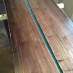 Walnut desk top