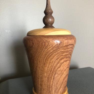Mesquite vessel