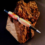 Flaming Box Elder Pen