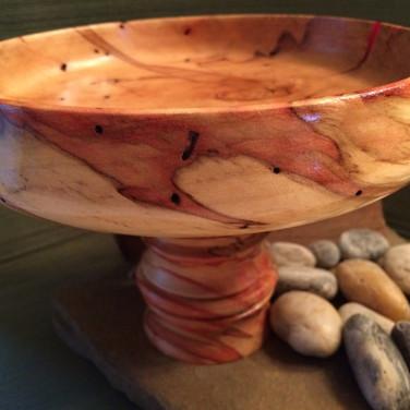Flaming Box Elder Dish
