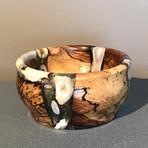 Wood/Resin/Antler bowl