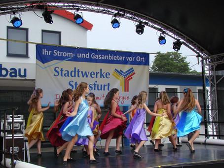 Unser Tanzensemble beim Salzlandfest 2019