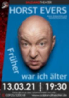 Plakat Horst Evers (Foto: Kike)