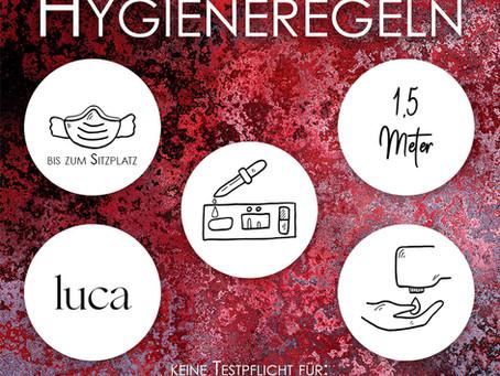 Hygienemaßnahmen! Was ist zu beachten?