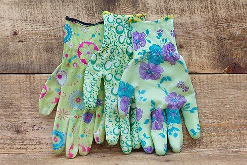 Садовые нейлоновые перчатки латексные купить