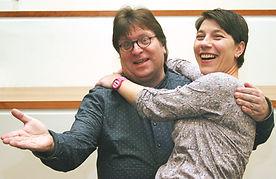 Lars Johansen & Sandy Gärtner