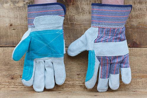 Перчатки спилковые комбинированные Докер купить