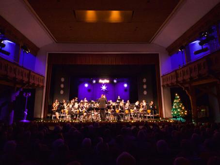 Weihnachtskonzerte des Jugendblasorchesters Staßfurt