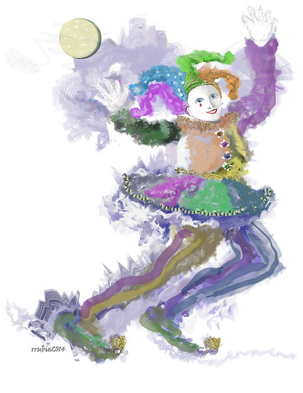 The Jester with Ball