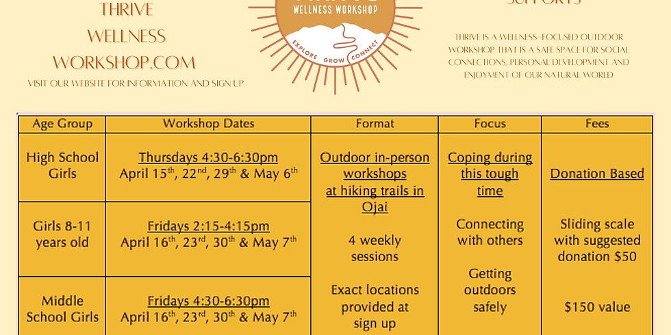 Spring 2021 Workshops