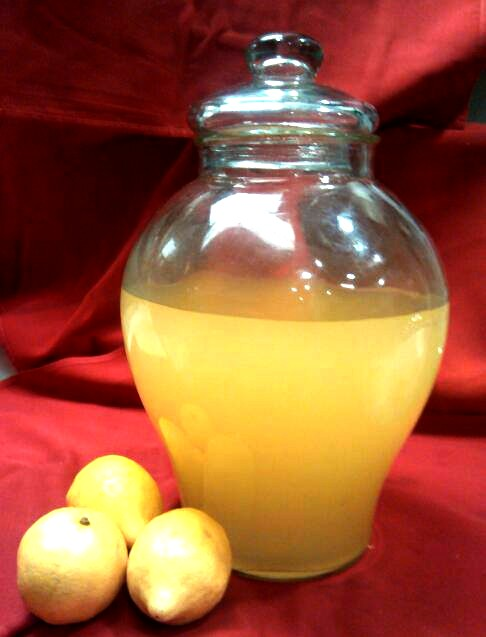 Chefs fresh brew of lemoncello