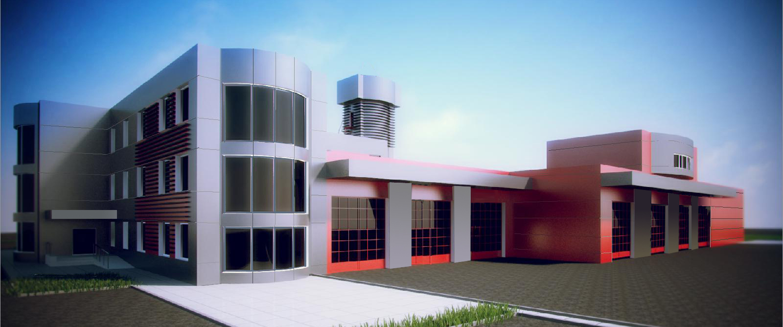 Фасады 3-Model