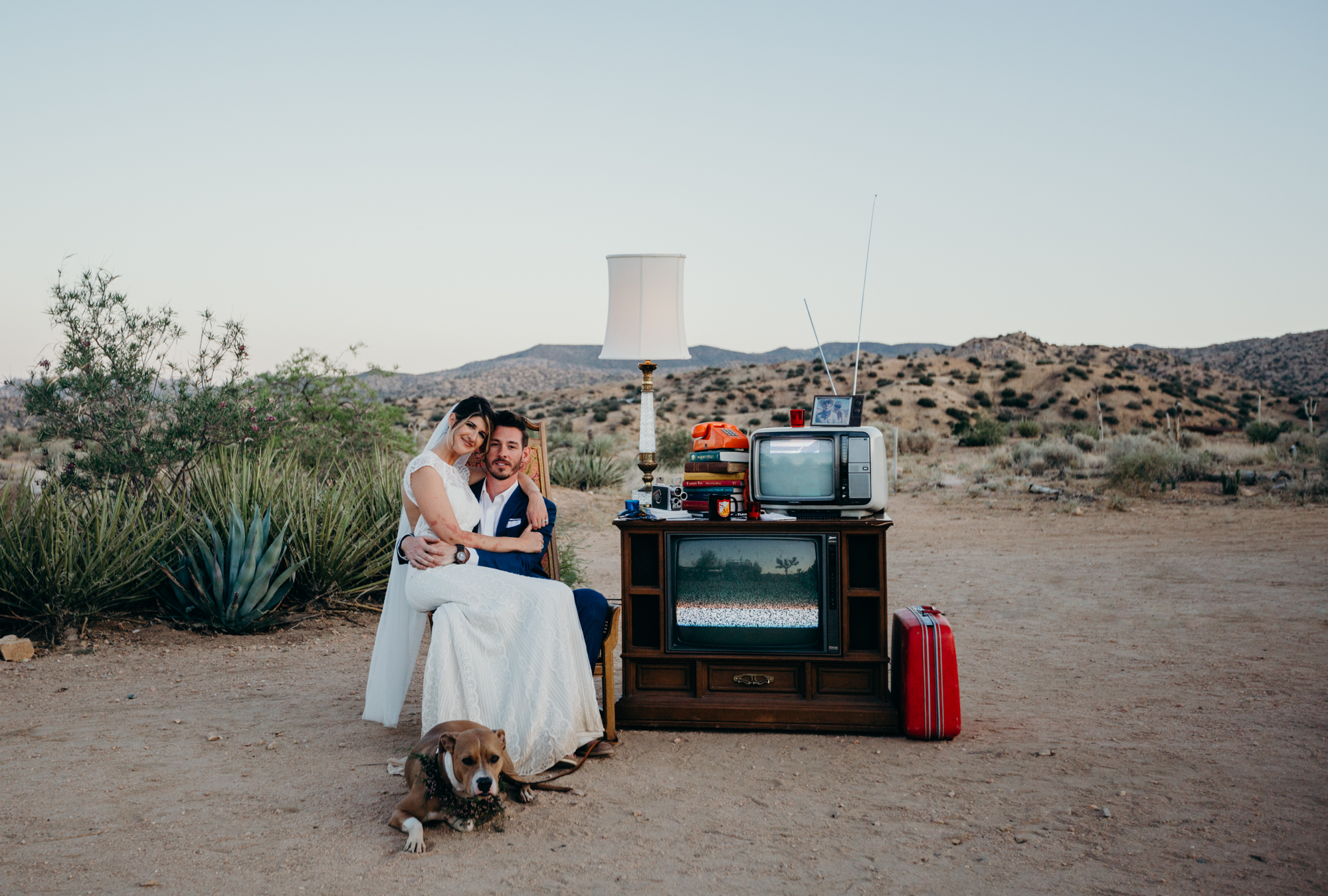 Vintage Desert Wedding