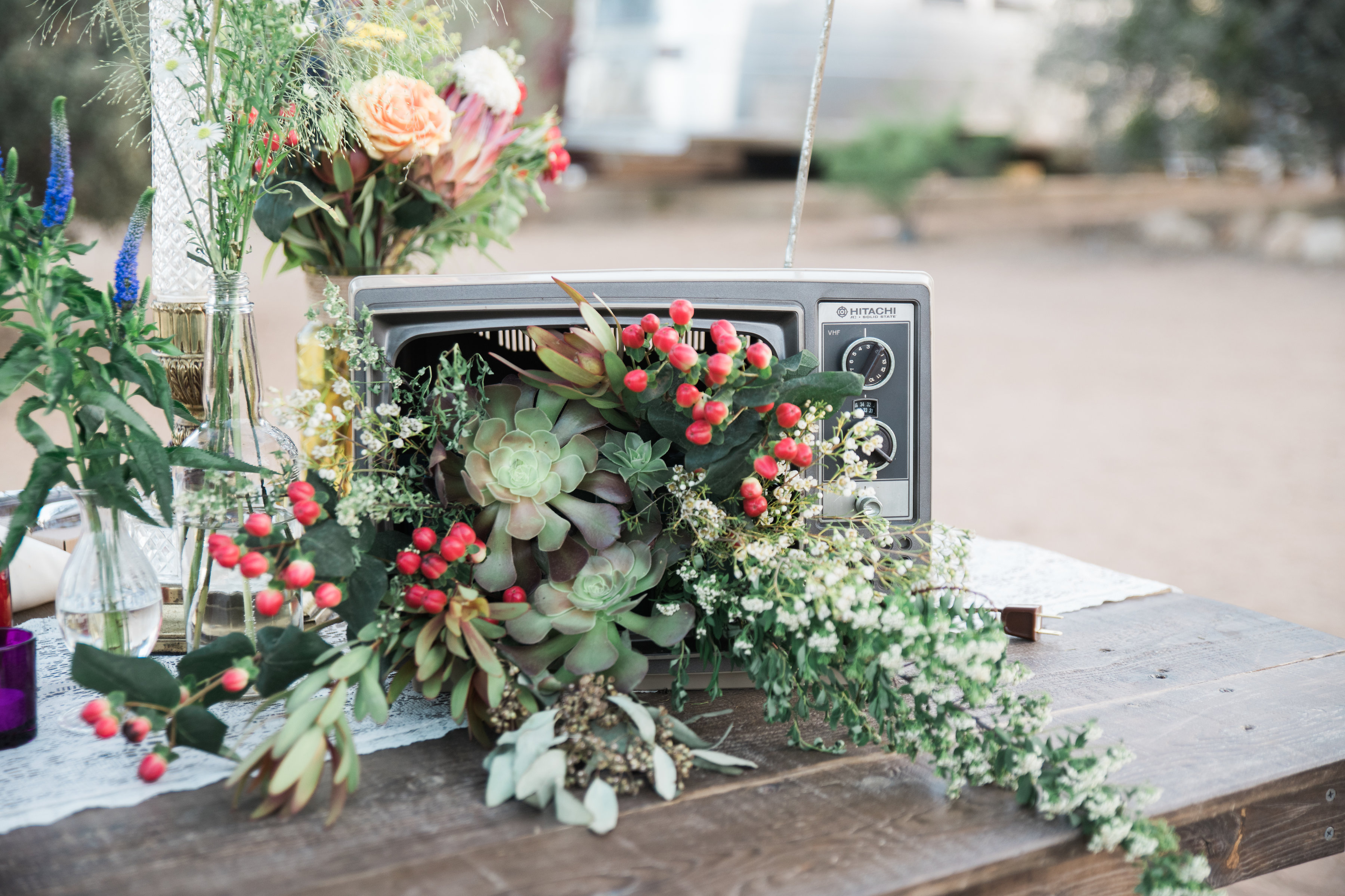TV Floral Arrangement