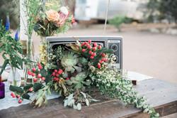 TV Floral Arrangement