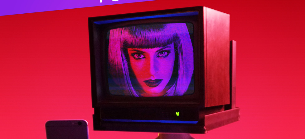 Bright Lights TV Head