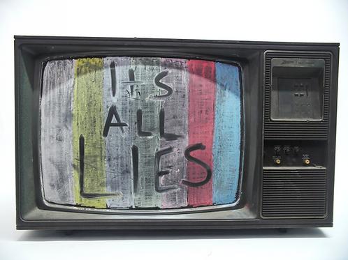 """Zenith """"chalkboard"""" TV"""