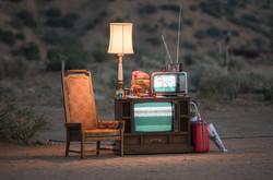 TV Desert Installation