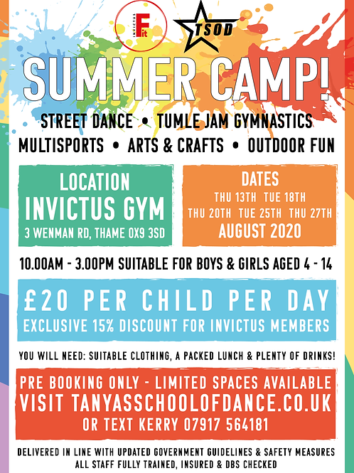 TSOD Summer Camp