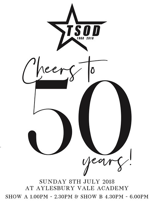 Summer Showcase 2018 DVD - Cheers to 50 Years