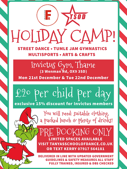 Christmas Holiday Camps