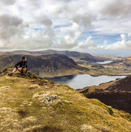 Crummock Water from Whiteless Pike #fell