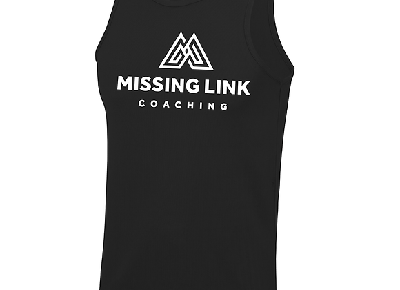 Missing Link Men's Running Vest - Black