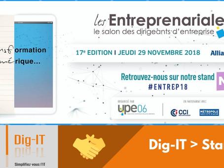 """Les Entreprenariales 2018  """"Transformation Numérique et Mutation Stratégique"""""""
