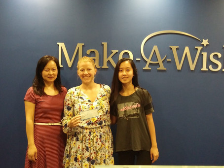 SoWE donates to Make-A-Wish Illinois