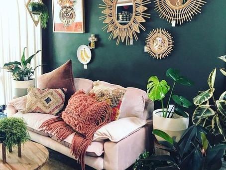 Estilo Boho Chic na decoração e Design de interiores