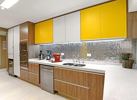 Pastilhas de inox para cozinhas e banheiros