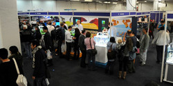 Booths at the Aquatic Garderns Association 2017 Convention